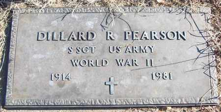 PEARSON (VETERAN WWII), DILLARD R - White County, Arkansas | DILLARD R PEARSON (VETERAN WWII) - Arkansas Gravestone Photos