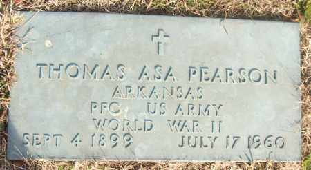 PEARSON (VETERAN WWII), THOMAS ASA - White County, Arkansas | THOMAS ASA PEARSON (VETERAN WWII) - Arkansas Gravestone Photos