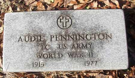 PENNINGTON (VETERAN WWII), AUDIE - White County, Arkansas | AUDIE PENNINGTON (VETERAN WWII) - Arkansas Gravestone Photos