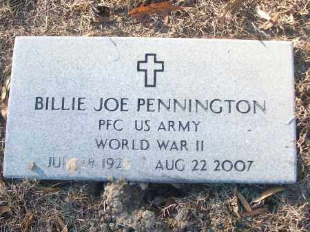 PENNINGTON (VETERAN WWII), BILLIE JOE - White County, Arkansas | BILLIE JOE PENNINGTON (VETERAN WWII) - Arkansas Gravestone Photos