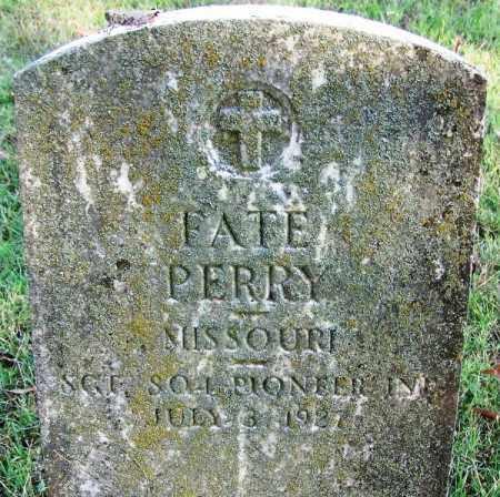 PERRY (VETERAN), FATE - White County, Arkansas | FATE PERRY (VETERAN) - Arkansas Gravestone Photos