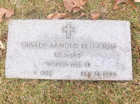 PETERSON  (VETERAN WWII), ORVALD ARNOLD - White County, Arkansas | ORVALD ARNOLD PETERSON  (VETERAN WWII) - Arkansas Gravestone Photos