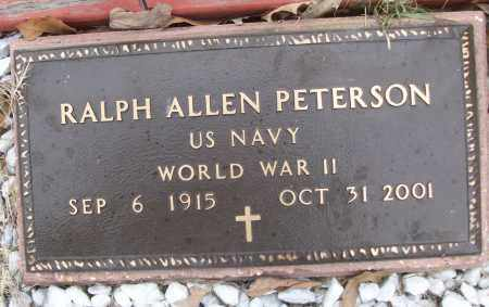 PETERSON (VETERAN WWII), RALPH ALLEN - White County, Arkansas | RALPH ALLEN PETERSON (VETERAN WWII) - Arkansas Gravestone Photos