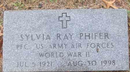 PHIFER (VETERAN WWII), SYLVIA RAY - White County, Arkansas | SYLVIA RAY PHIFER (VETERAN WWII) - Arkansas Gravestone Photos
