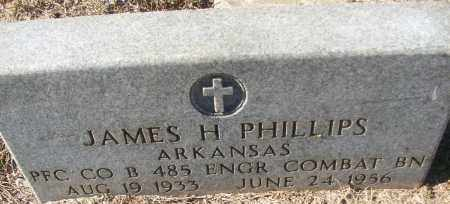 PHILLIPS (VETERAN), JAMES H - White County, Arkansas | JAMES H PHILLIPS (VETERAN) - Arkansas Gravestone Photos