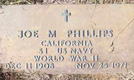 PHILLIPS (VETERAN WWII), JOE M - White County, Arkansas | JOE M PHILLIPS (VETERAN WWII) - Arkansas Gravestone Photos