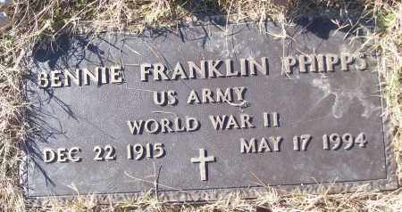 PHIPPS (VETERAN WWII), BENNIE FRANKLIN - White County, Arkansas | BENNIE FRANKLIN PHIPPS (VETERAN WWII) - Arkansas Gravestone Photos