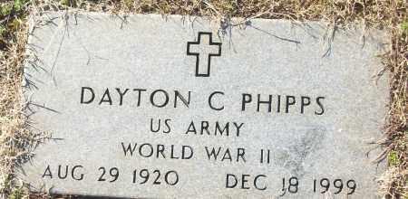 PHIPPS (VETERAN WWII), DAYTON C - White County, Arkansas | DAYTON C PHIPPS (VETERAN WWII) - Arkansas Gravestone Photos