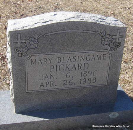 BLASINGAME PICKARD, MARY - White County, Arkansas | MARY BLASINGAME PICKARD - Arkansas Gravestone Photos