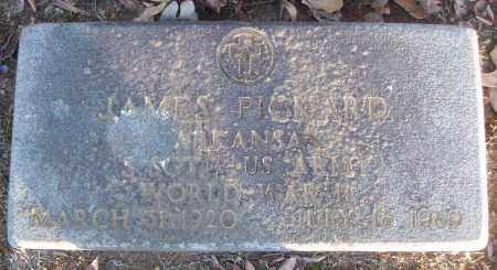 PICKARD (VETERAN WWII), JAMES - White County, Arkansas | JAMES PICKARD (VETERAN WWII) - Arkansas Gravestone Photos