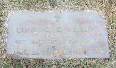 PICKENS  (VETERAN KOR), CHARLES K - White County, Arkansas | CHARLES K PICKENS  (VETERAN KOR) - Arkansas Gravestone Photos