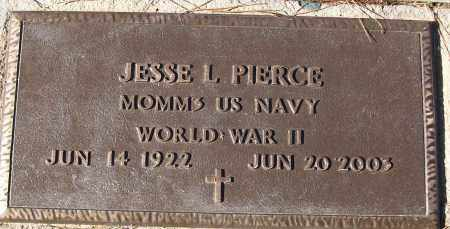 PIERCE (VETERAN WWII), JESSE L - White County, Arkansas | JESSE L PIERCE (VETERAN WWII) - Arkansas Gravestone Photos