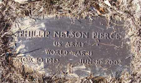 PIERCE (VETERAN WWII), PHILLIP NELSON - White County, Arkansas | PHILLIP NELSON PIERCE (VETERAN WWII) - Arkansas Gravestone Photos