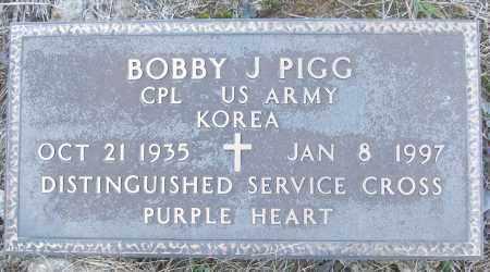 PIGG (VETERAN KOR), BOBBY J - White County, Arkansas | BOBBY J PIGG (VETERAN KOR) - Arkansas Gravestone Photos