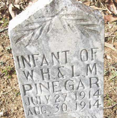 PINEGAR, INFANT - White County, Arkansas | INFANT PINEGAR - Arkansas Gravestone Photos