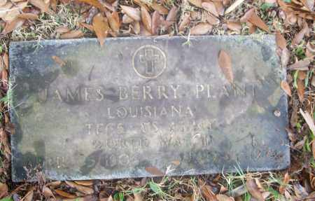 PLANT  (VETERAN WWII), JAMES BERRY - White County, Arkansas | JAMES BERRY PLANT  (VETERAN WWII) - Arkansas Gravestone Photos