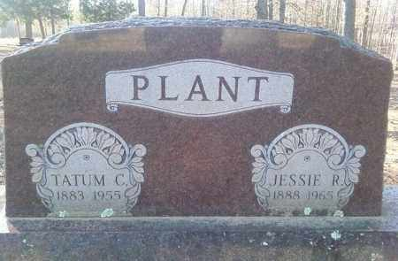 PLANT, TATUM C - White County, Arkansas | TATUM C PLANT - Arkansas Gravestone Photos