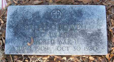 POWELL (VETERAN WWII), RALPH C - White County, Arkansas | RALPH C POWELL (VETERAN WWII) - Arkansas Gravestone Photos