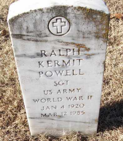 POWELL (VETERAN WWII), RALPH KERMIT - White County, Arkansas | RALPH KERMIT POWELL (VETERAN WWII) - Arkansas Gravestone Photos