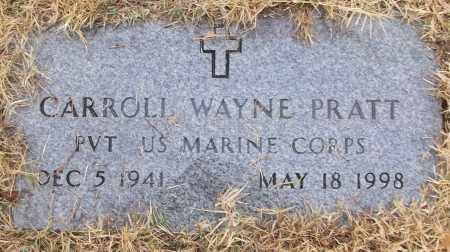 PRATT (VETERAN), CARROLL WAYNE - White County, Arkansas | CARROLL WAYNE PRATT (VETERAN) - Arkansas Gravestone Photos