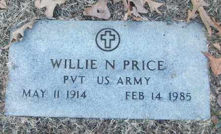 PRICE (VETERAN), WILLIE N - White County, Arkansas | WILLIE N PRICE (VETERAN) - Arkansas Gravestone Photos
