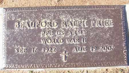 PRICE (VETERAN WWII), BEAUFORD RALPH - White County, Arkansas | BEAUFORD RALPH PRICE (VETERAN WWII) - Arkansas Gravestone Photos