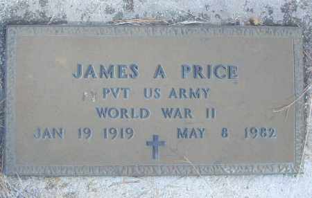 PRICE (VETERAN WWII), JAMES A - White County, Arkansas | JAMES A PRICE (VETERAN WWII) - Arkansas Gravestone Photos