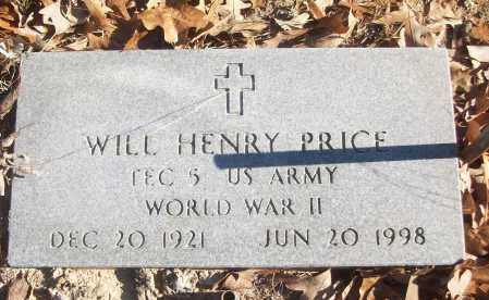 PRICE (VETERAN WWII), WILL HENRY - White County, Arkansas | WILL HENRY PRICE (VETERAN WWII) - Arkansas Gravestone Photos