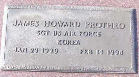 PROTHRO (VETERAN KOR), JAMES HOWARD - White County, Arkansas | JAMES HOWARD PROTHRO (VETERAN KOR) - Arkansas Gravestone Photos