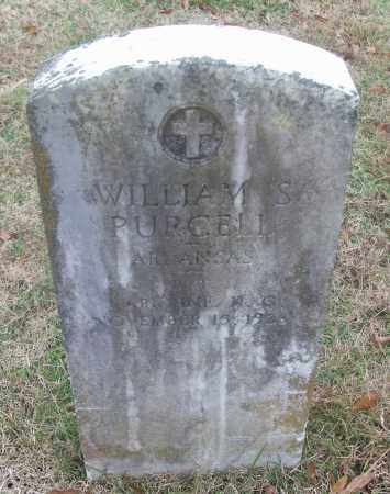 PURCELL  (VETERAN), WILLIAM S - White County, Arkansas | WILLIAM S PURCELL  (VETERAN) - Arkansas Gravestone Photos