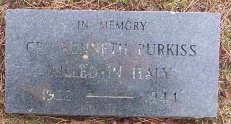 PURKISS (VETERAN WWII, KIA), KENNETH - White County, Arkansas | KENNETH PURKISS (VETERAN WWII, KIA) - Arkansas Gravestone Photos