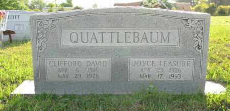 LEASURE QUATTLEBAUM, JOYCE - White County, Arkansas | JOYCE LEASURE QUATTLEBAUM - Arkansas Gravestone Photos