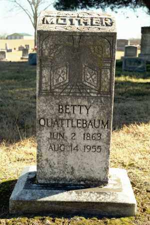 "QUATTLEBAUM, ELIZABETH ""BETTY"" - White County, Arkansas 
