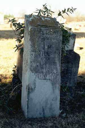 QUATTLEBAUM, OLIVER MOORE - White County, Arkansas | OLIVER MOORE QUATTLEBAUM - Arkansas Gravestone Photos