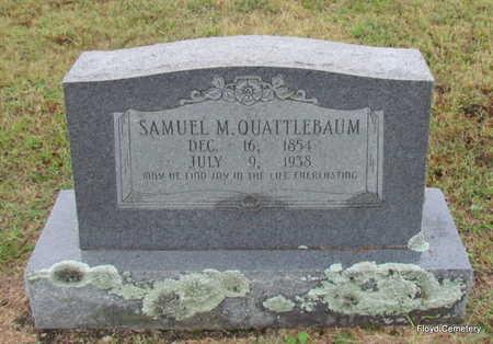 QUATTLEBAUM, SAMUEL MARTIN - White County, Arkansas | SAMUEL MARTIN QUATTLEBAUM - Arkansas Gravestone Photos