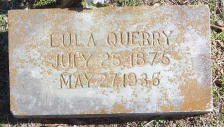 QUERRY, LULA - White County, Arkansas | LULA QUERRY - Arkansas Gravestone Photos