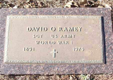 RAMEY (VETERAN WWI), DAVID O - White County, Arkansas | DAVID O RAMEY (VETERAN WWI) - Arkansas Gravestone Photos