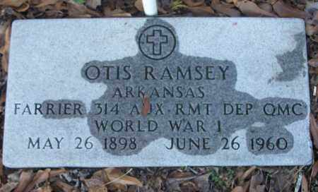 RAMSEY (VETERAN WWI), OTIS - White County, Arkansas | OTIS RAMSEY (VETERAN WWI) - Arkansas Gravestone Photos