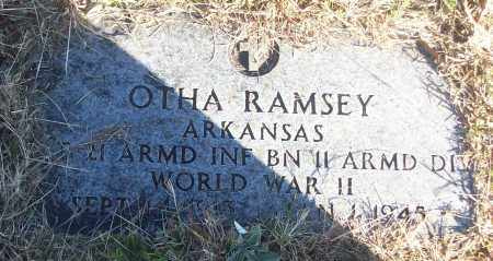 RAMSEY (VETERAN WWII), OTHA - White County, Arkansas | OTHA RAMSEY (VETERAN WWII) - Arkansas Gravestone Photos