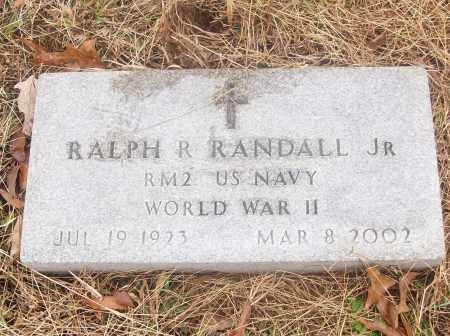 RANDALL,  JR  (VETERAN WWII), RALPH R - White County, Arkansas | RALPH R RANDALL,  JR  (VETERAN WWII) - Arkansas Gravestone Photos