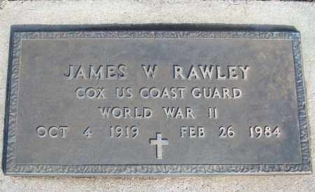 RAWLEY (VETERAN WWII), JAMES W - White County, Arkansas | JAMES W RAWLEY (VETERAN WWII) - Arkansas Gravestone Photos
