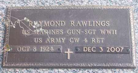 RAWLINGS (VETERAN WWII), RAYMOND - White County, Arkansas | RAYMOND RAWLINGS (VETERAN WWII) - Arkansas Gravestone Photos
