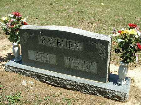 RAYBURN, MARY - White County, Arkansas | MARY RAYBURN - Arkansas Gravestone Photos
