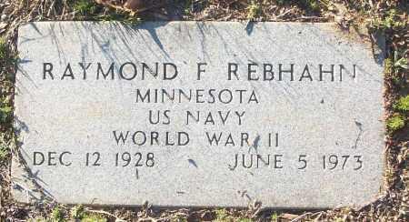 REBHAHN (VETERAN WWII), RAYMOND F - White County, Arkansas | RAYMOND F REBHAHN (VETERAN WWII) - Arkansas Gravestone Photos