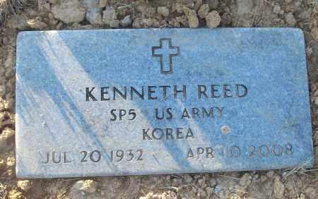 REED (VETERAN KOR), KENNETH - White County, Arkansas | KENNETH REED (VETERAN KOR) - Arkansas Gravestone Photos