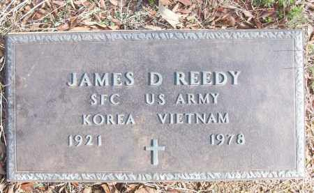 REEDY (VETERAN 2 WARS), JAMES D - White County, Arkansas | JAMES D REEDY (VETERAN 2 WARS) - Arkansas Gravestone Photos