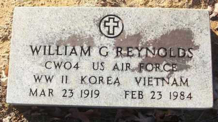 REYNOLDS (VETERAN 3 WARS), WILIAM G - White County, Arkansas | WILIAM G REYNOLDS (VETERAN 3 WARS) - Arkansas Gravestone Photos