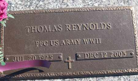 REYNOLDS (VETERAN WWII), THOMAS - White County, Arkansas | THOMAS REYNOLDS (VETERAN WWII) - Arkansas Gravestone Photos
