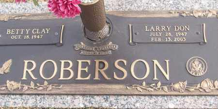 ROBERSON (VETERAN), LARRY DON - White County, Arkansas | LARRY DON ROBERSON (VETERAN) - Arkansas Gravestone Photos