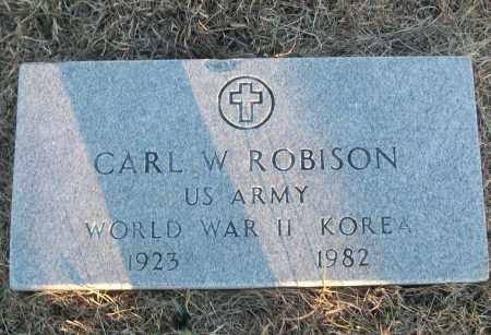 ROBISON (VETERAN 2 WARS), CARL W - White County, Arkansas | CARL W ROBISON (VETERAN 2 WARS) - Arkansas Gravestone Photos